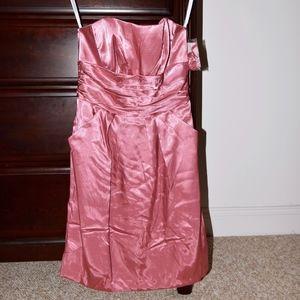Strapless Pocket Dress